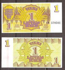 Letland - 1992 - Bankbiljet - 1 RUBLIS - UNC