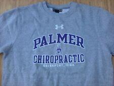 Palmer Chiropractic College Under Armour Sweatshirt ~ Men's XL ~ Gray Davenport