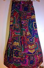 midcalf hippy peasant gypsy boho skirt vintage  waist 28