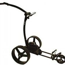 Electric Golf Trolley Pge 3.1, BleiGelAkku12V33Ah, New Design,USB,Black