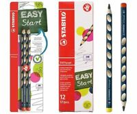 Stabilo EASYGraph Graphite 3.15 HB Grip Handwriting Pencil - Right / Left Handed