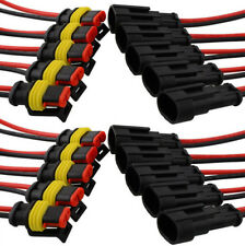 2Pin Car SUV Boat Wire Connector Plug Terminal Sealed Waterproof Electrical Kit