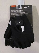 NWT Nike Mens Fundamental Training Fitness Gloves L Black/White