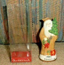 Vintage Gorgeous Old World Santa Fine Porcelain Figurine Christmas Romania