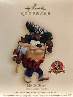 Hallmark Keepsake Ornament ME GET TREE!- Taz-Looney Tunes,Warner Bros, 2007, NIB