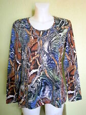 "STRETCHIGES VISKOSE-SHIRT ""GERRY WEBER""  GR. XL = 44"