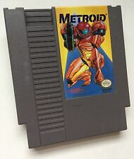 Nintendo NES Metroid Yellow Label Video Game Cartridge