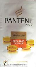3x PANTENE PRO-V BREAKAGE DEFENCE CONDITIONER~10ml SACHETS x3 ~TRAVEL~HOLIDAY~