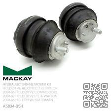 MACKAY HYDRAULIC ENGINE MOUNT SET V6 ALLOYTEC 3.6L [HOLDEN WL STATESMAN/CAPRICE]