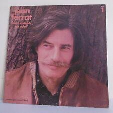 33T Jean FERRAT Disque LP DEUX ENFANTS AU SOLEIL N°1 Discographie BARCLAY 90111