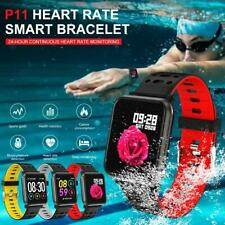 Waterproof Smart Watch Fitness Tracker W Heart Rate Step Calorie Counter Weather
