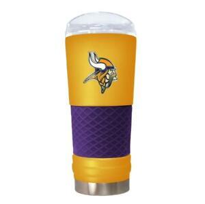 Minnesota Vikings 24 OZ STAINLESS STEEL VACUUM INSULATED TUMBLER