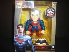 "Jada Superman Movies 2016 Batman v Superman Figures 4"" Metal"