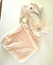 STEPHAN BABY PINK BUNNY GIFT SET BLANKIE, RATTLE & PUPPET SOFT NWT FREE SHIPPING