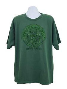 Dropkick Murphys St. Paddy's Tour 2012 T-shirt Mens 2XL Bayside Heavyweight A31