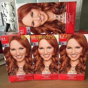 Avon ADVANCE TECHNIQUES Professional Hair Colour INTENSE COPPER 8.4 x4 Lots