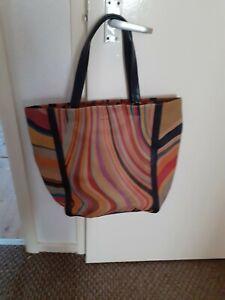 Paul Smith Ladies Stripe Bag