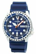 Citizen Mens Casual Blue Automatic Watch NH8381-12L NEW