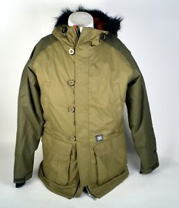 NWOT WOMENS L1 PREMIUM GOODS MOONAGE SNOW JACKET $300 L Green 5k Waterproof