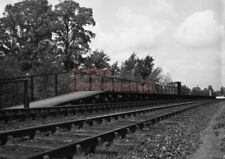 PHOTO  GWR DILTON MARSH RAILWAY STATION 1960'S VIEW OF THE SMALL STATION