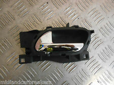 PEUGEOT 407 COUPE 2006 NS PASSENGER SIDE INTERIOR DOOR HANDLE 96526178VD