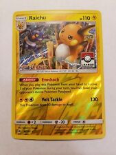 Pokemon Raichu 3rd Place Pokemon League reverse Holo Promo