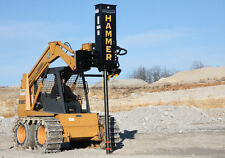 Post Driver,Post Pounder,Skidsteer,Danuser SM40 Hammer: Grapple&Tilt, IN STOCK!