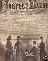 1877 Harpers Bazar October 13 - manicures and pedicures