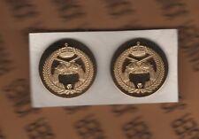 Saudi Arabia Military Police MP dress uniform badge gold in color set lot group