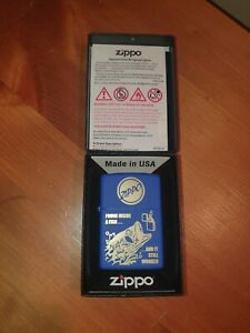 Zippo Refillable Cigarette Lighter, Fish Belly Brand New Box Collectable Fishing
