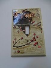 HEART VINE SINGLE LIGHT SWITCH COVER PLATE COUNTRY HOME DECOR