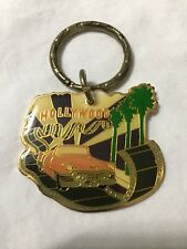 CADILLAC 1954 PINK HOLLYWOOD CALIFORNIA VINTAGE ANTIQUE KEY CHAIN METAL NEW
