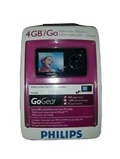 Philips GoGear SA3245  Black ( 4 GB ) Digital Media Player MP3 - New