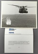 SIKORSKY MH-53E HELICOPTER LARGE OFFICIAL PHOTO MINE SWEEPING