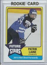 2015 Patrik Laine Hot Shot Prospects Future Stars Rookie Card RC Mint