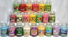 RARE YANKEE CANDLE 22oz LARGE JAR Variety RETIRED, LE, COLLECTOR Scents *U Pick*