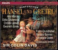 NEW Humperdinck: Hansel und Gretel - Grundheber/Jones/Davis (2 CDs 1993)