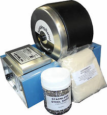 Lortone 45C Rotary Tumbler, Stainless Steel Shot, burnishing powder for jewelry