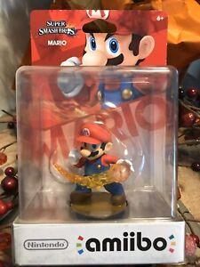 Nintendo Mario Amiibo - Super Smash Bros - Brand New -