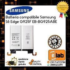 BATTERIA PER SAMSUNG GALAXY S6 EDGE G925F EB-BG925ABE 2600mAh ZERO CICLI PILA