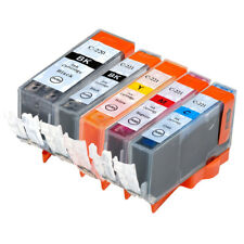 5 NON-OEM INK CARTRIDGE CANON PGI-220 CLI-221 PIXMA IP3600 IP4600 MP620 MP980