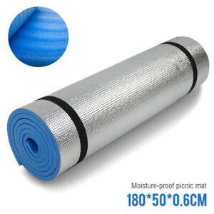 Yoga Mat Gym Exercise Thick Fitness Physio Pilates Soft Mats Non Slip Camping