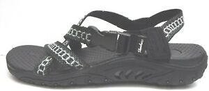 Skechers Size 6 Black Sandals New Womens Shoes