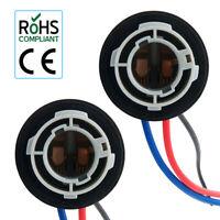 2x Car 380 BAY15D /1157 Bulb Holder CONNECTOR Indicator Stop Tail Brake Light