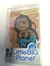 * LITTLE BIG PLANET * ANGRY SACKBOY OFFICIAL RUBBER KEYRING * NEW