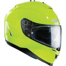 Full Face Hi-Vis/Reflective 5 Star Motorcycle Helmets