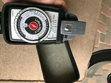 Gossen Luna-Pro F Light Meter with Leather Case Works Excellent with Spot Meter