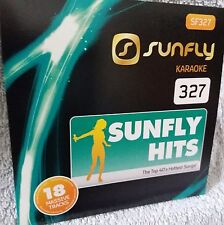 Sunfly Karaoke New Genuine Original SFG327 CD+G 18 track disc, see Description