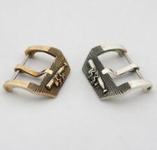 Handmade watch buckle sterling silver/bronze/brass for watch band 24,26 mm PAM