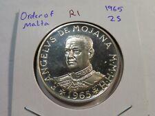 R1 Malta 1965 2 Scudo Proof